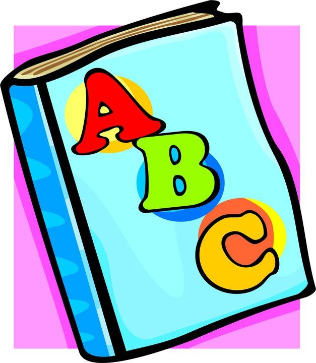 627x720 Abc Book Clip Art