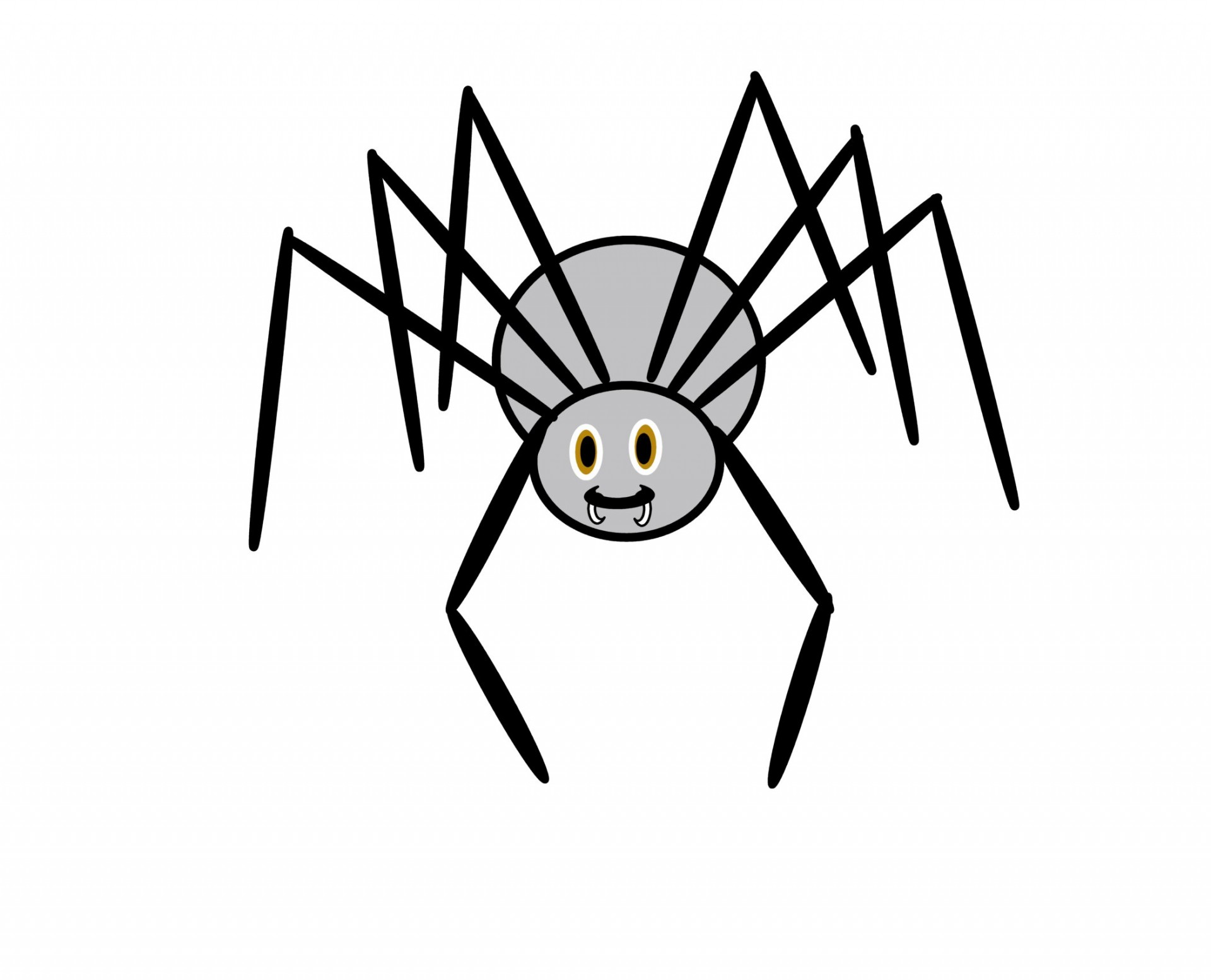 1920x1554 Clip Art Spider Free Stock Photo
