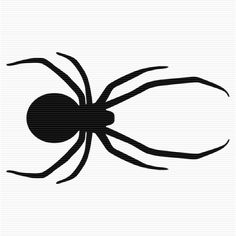 236x236 Spider Silhouette Clip Art, Free Spider Silhouette Clip Art