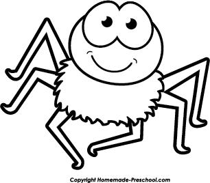 306x268 White Spider Clip Art Cliparts