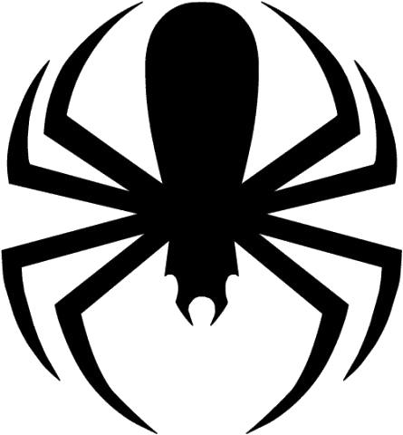 445x480 Clip Art Spider Clipart Image 5
