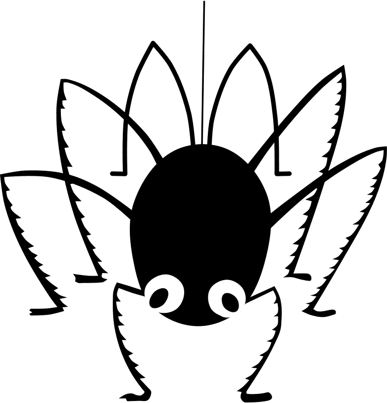 769x800 Clipart spider clipart image