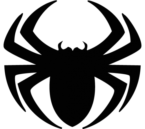 500x446 Free spider clip art pictures 7 –