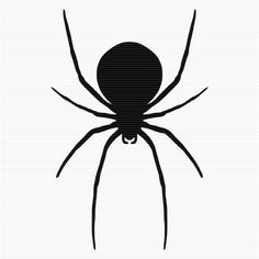 236x236 Black Widow Spider Clip Art Art Graphics