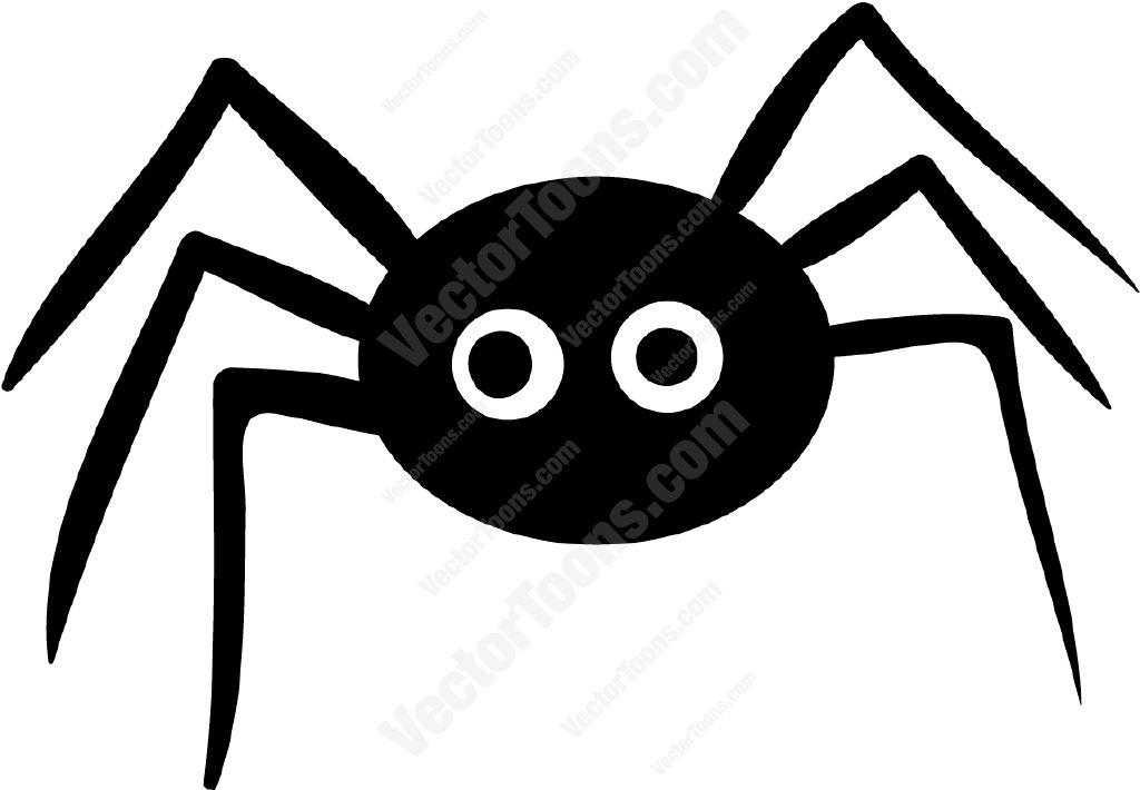 1024x710 Spider Clipart Graphic