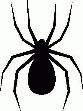 276x369 Black Widow Clipart Halloween Spider