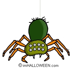 252x239 Scary Spider Clipart