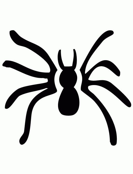 550x720 Spider clipart pumpkin stencil