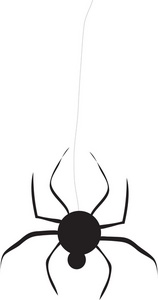 158x300 Spider Clipart Image