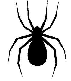 236x271 Spider Silhouette Clipart