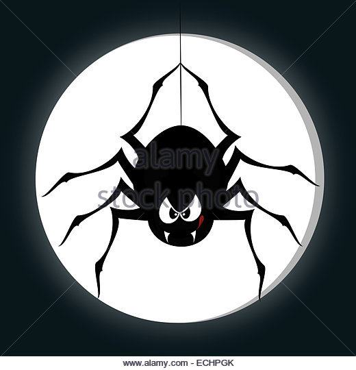 520x540 Spider Thread Hanging Illustration Stock Photos Amp Spider Thread