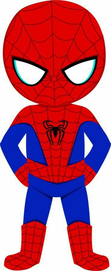 368x900 Moves clipart spiderman