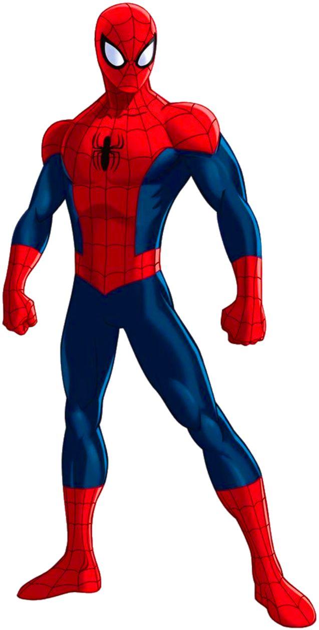 637x1255 Spider Man Clip Art