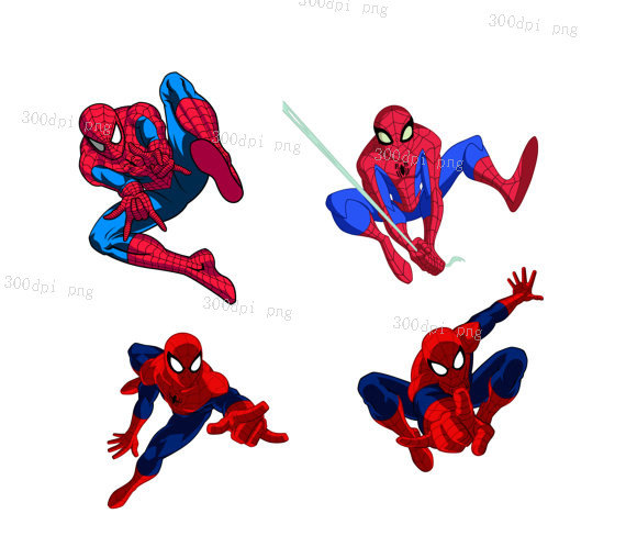 570x488 Spider Man Clipart Vector