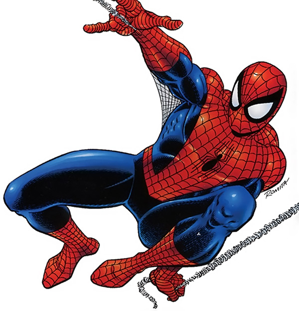 600x624 Background spiderman clipart, explore pictures