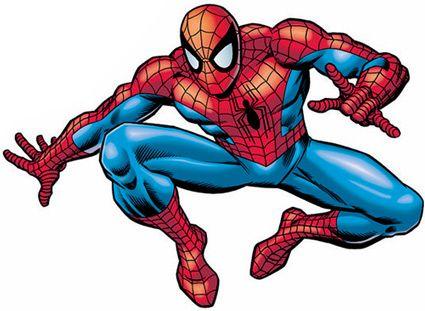425x311 Spiderman Spider Man Outline Clipart Kid