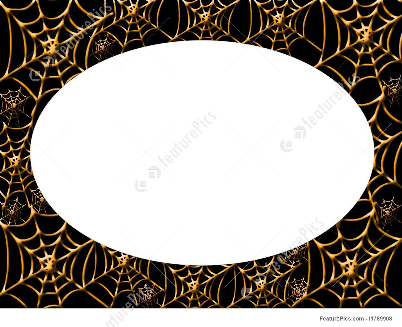 1300x1060 Halloween Spider Web Border Picture