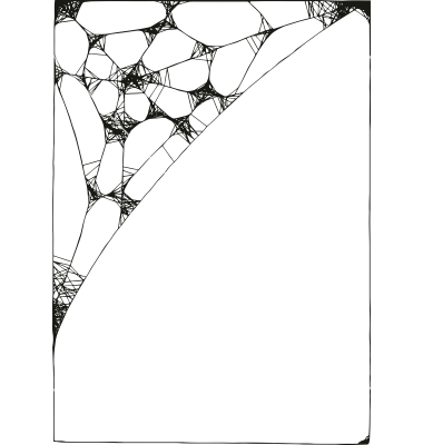380x400 8 Spider Web Border Vector Images