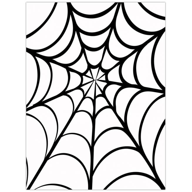 654x654 Spider web border clipart free images 12