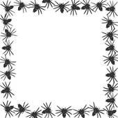 170x170 Clipart of spider border k3627801