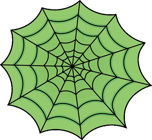 500x463 Green Spider Web Clip Art