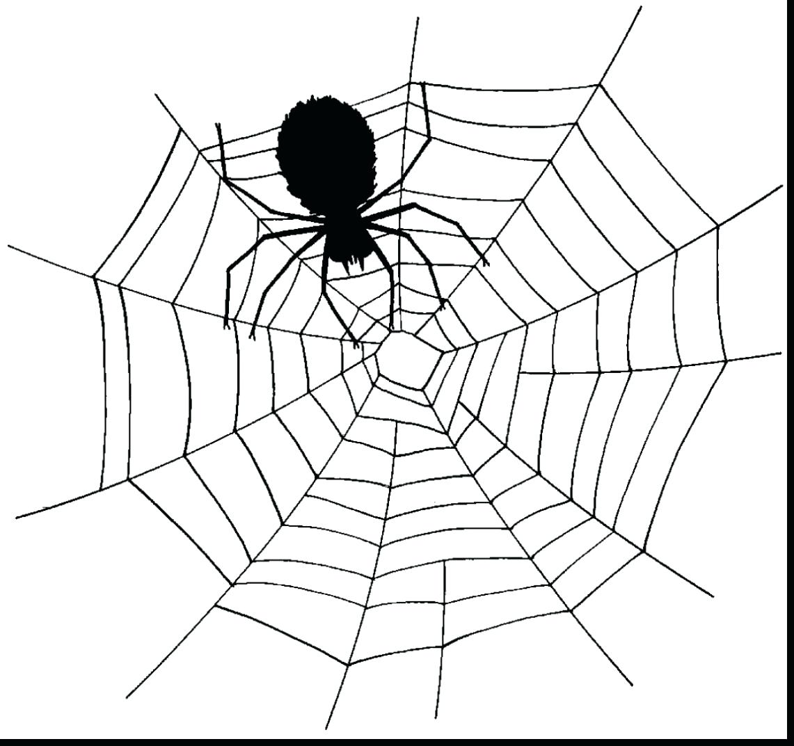 Spider web scary. Clipart free download best