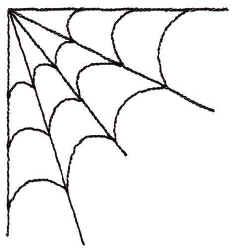 500x500 Spider Web Corner Clipart Holiday Halloween