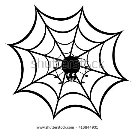 450x438 Spider Web clipart funny