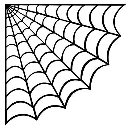 428x416 Best 25+ Spider web drawing ideas Halloween