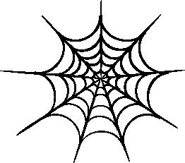 262x231 Spider Web clipart transparent