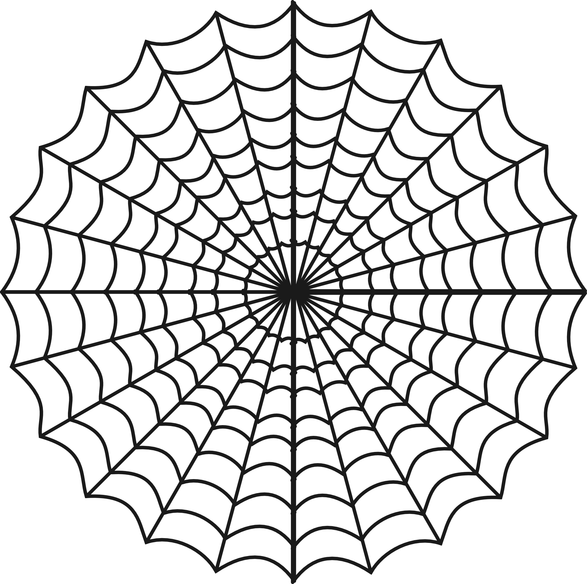 1969x1959 Pattern Clipart Spider Web