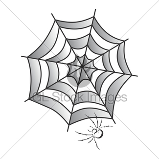 325x325 Spider Web Art Gl Stock Images