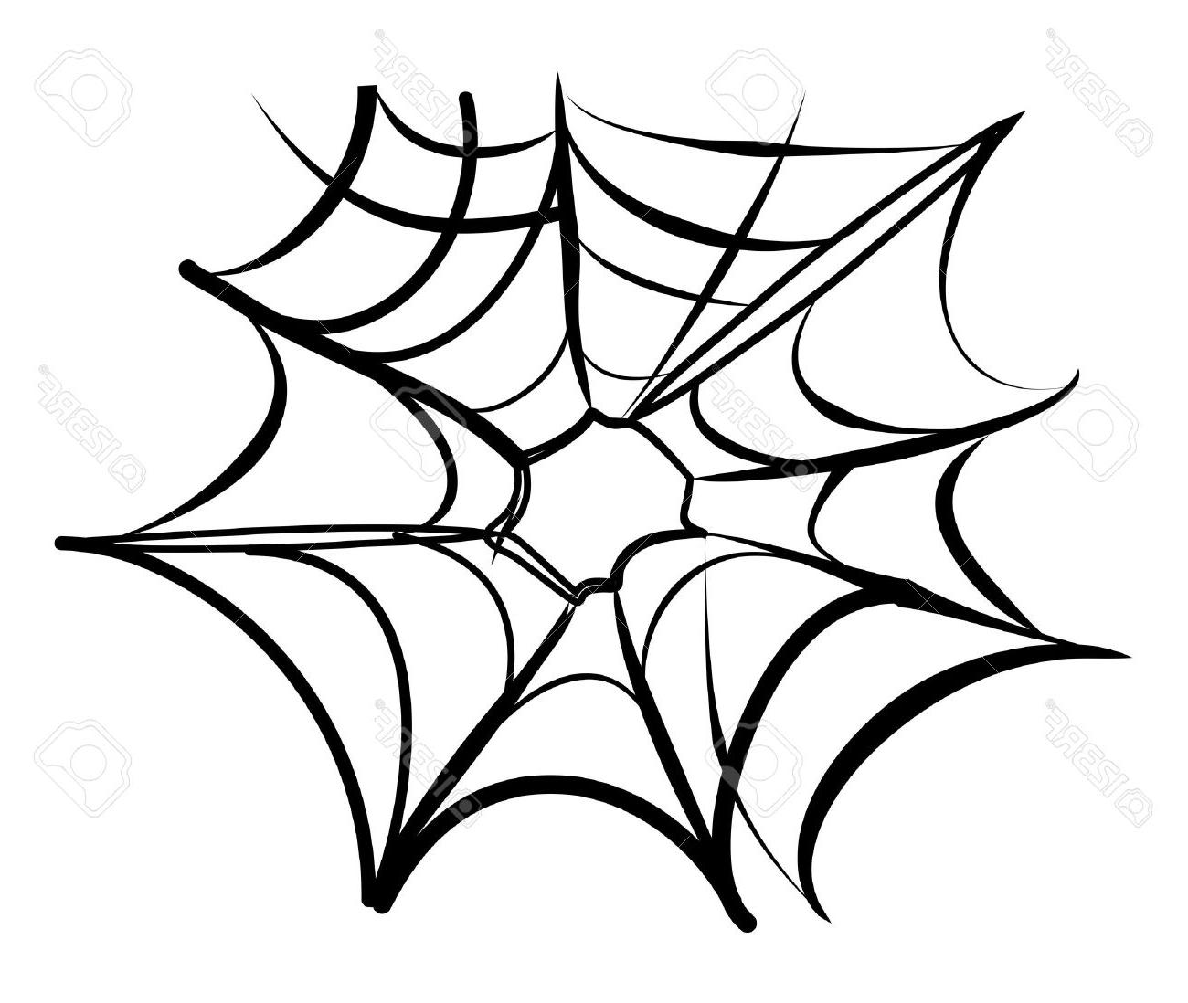 1300x1098 Best Free Spider Web Background Black And White Stock Vector Cdr