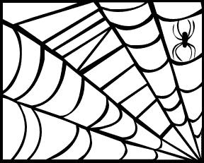 288x231 Spider Web Clip Art Clipart