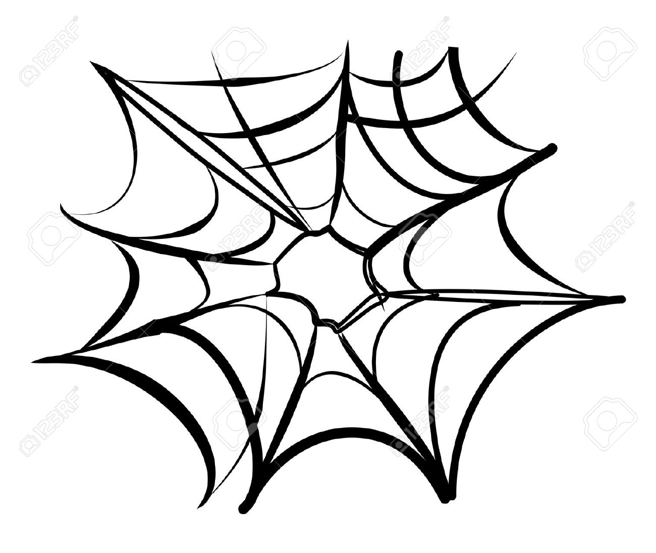 1300x1097 Wheel Web Spiders Clipart