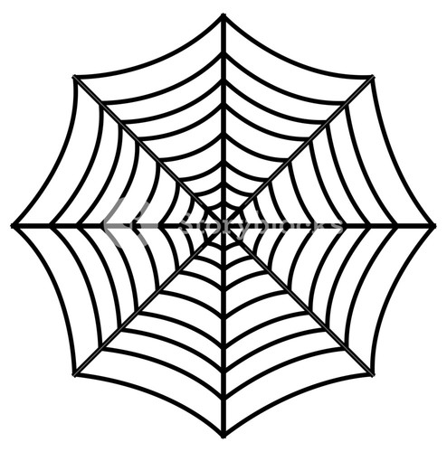 494x500 Spider Web Royalty Free Vectors