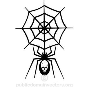 Spider Web Graphics Clipart