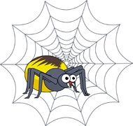 190x180 Free Spider Clipart Collection