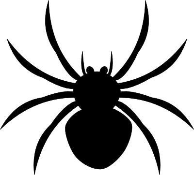 400x362 Large Spider Web Clipart