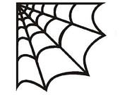 170x135 Spider Web Corner Clipart