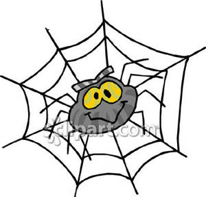 300x287 Spider Web Clipart Cartoon