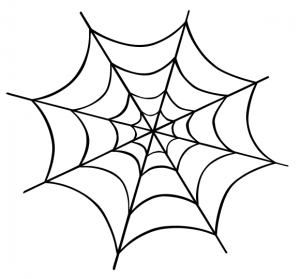 300x279 Spider Web Clip Art Download