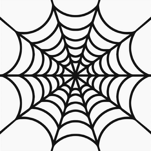 500x500 free spider web clipart
