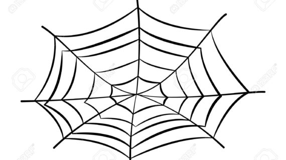 570x320 Spider Web Cartoon Drawing Spider Web Cartoon Stock Photos Images