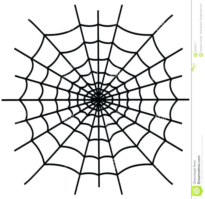 687x666 Spider Web Coloring Pages Page Fun Free Thaypiniphone