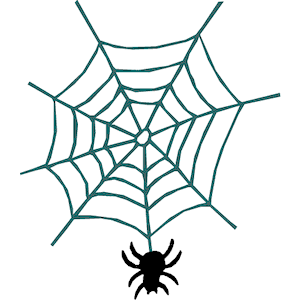 300x300 Spider Web Free Vector Design Spiders Clip Art