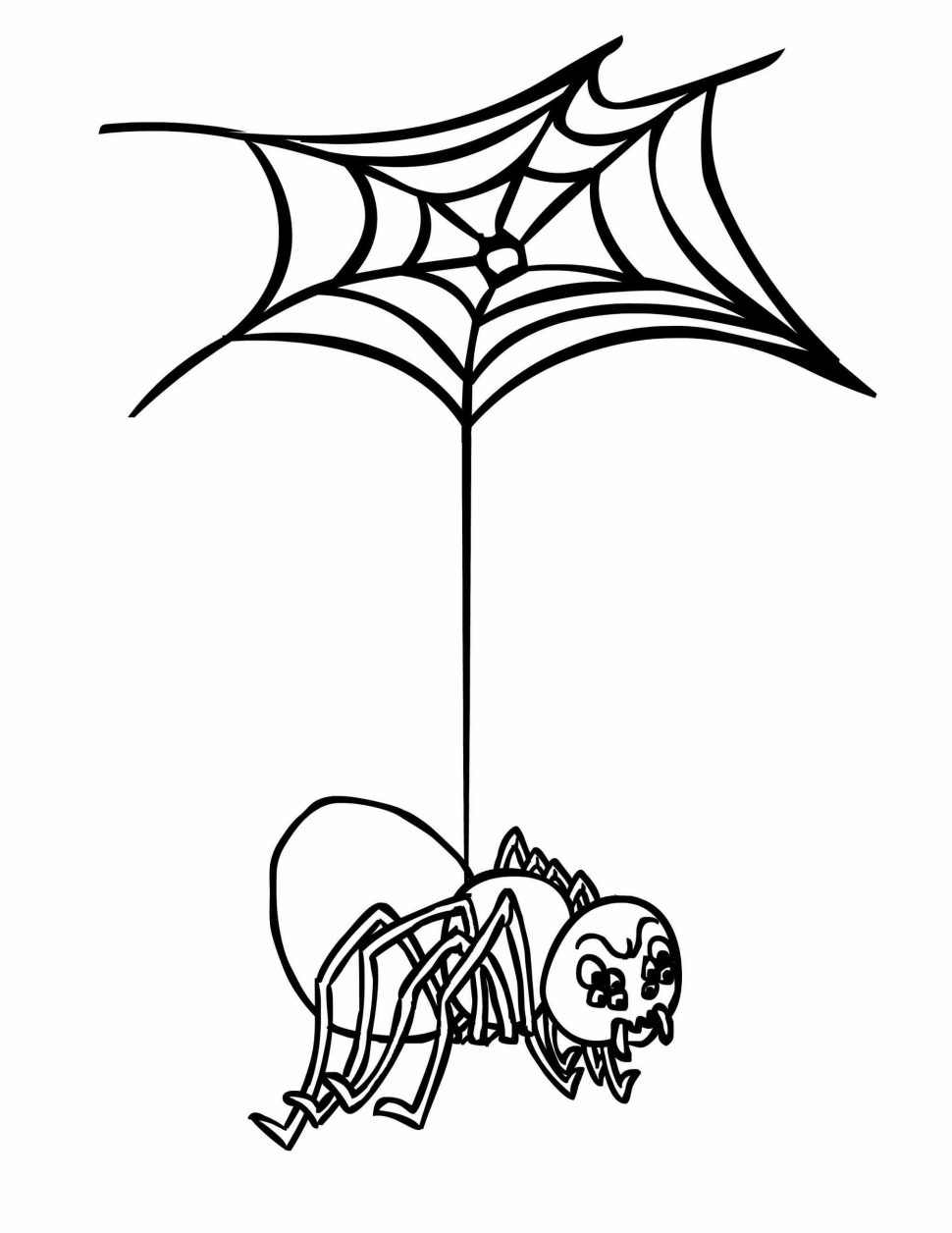 970x1256 Coloring Pages Spider Web Coloring Page Spider Web Coloring Page