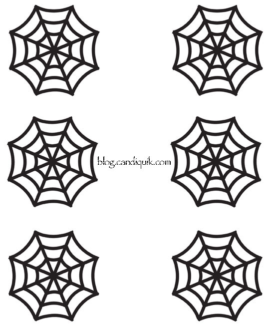 543x655 Easy Diy Halloween Cupcake Toppers Recipe Spider Webs