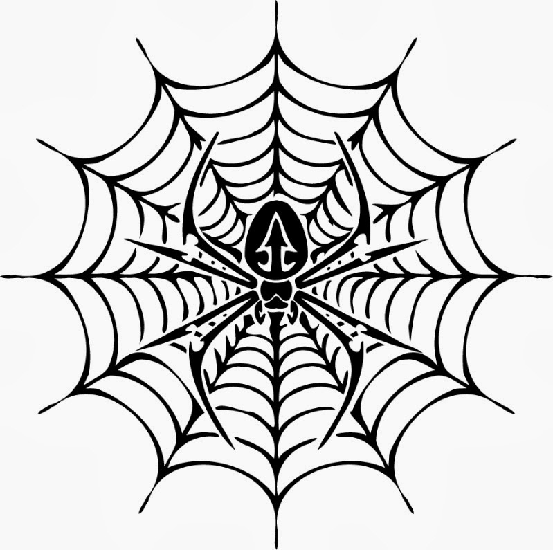 799x795 Free Printable Spider Web Coloring Pages For Kids