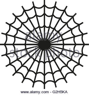 300x320 Isolated Spider Vector Logo. Insect Illustration. Arachnophobia
